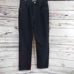 Free People We the Free black mom jeans size 27